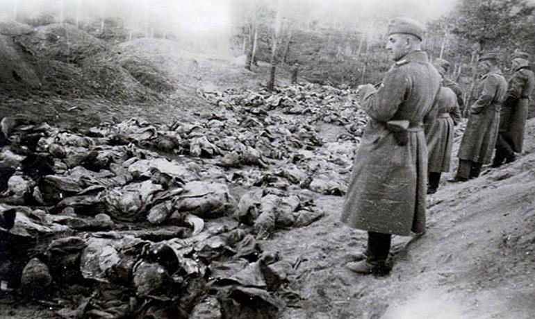 Катинското клане от 1940 г. Снимка: Wikipedia