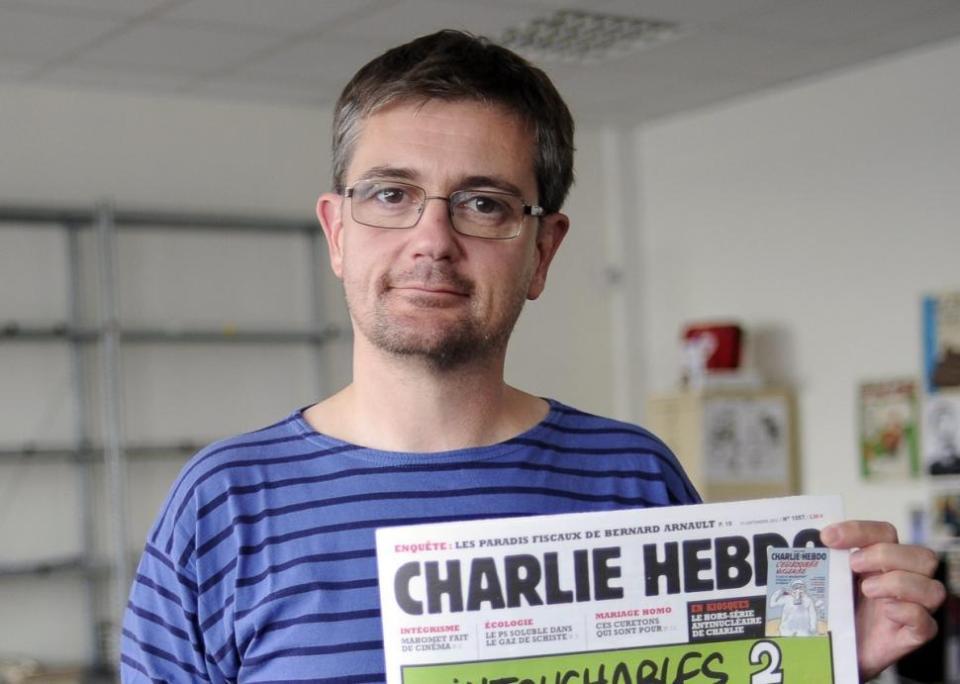 """Стефан Шарбоние, убитият главен редактор на """"Шарли Ебдо"""""""