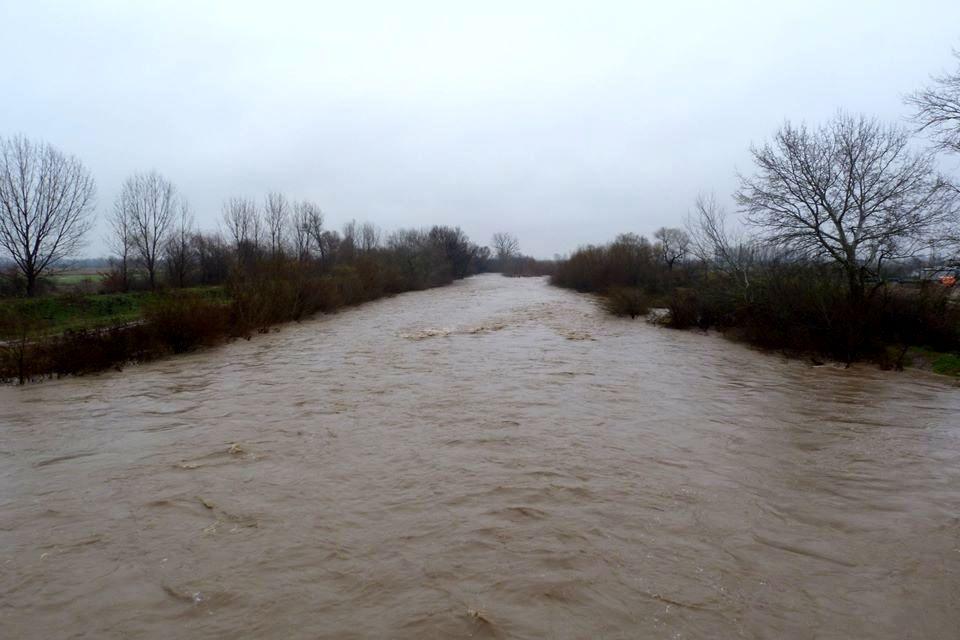 Река Стряма при село Трилистник. Снимка: БГНЕС