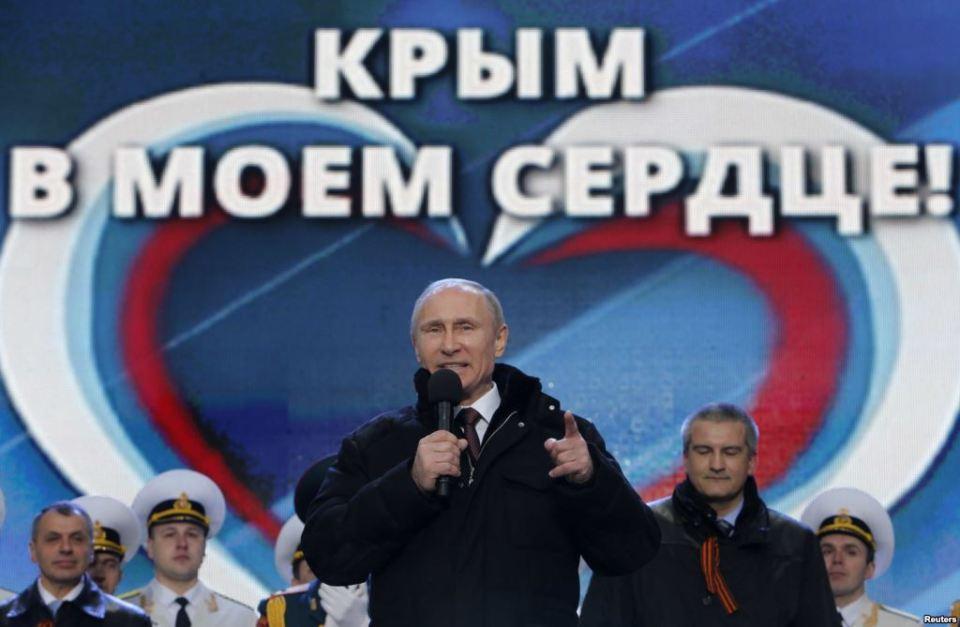 Владимир Путин Крим