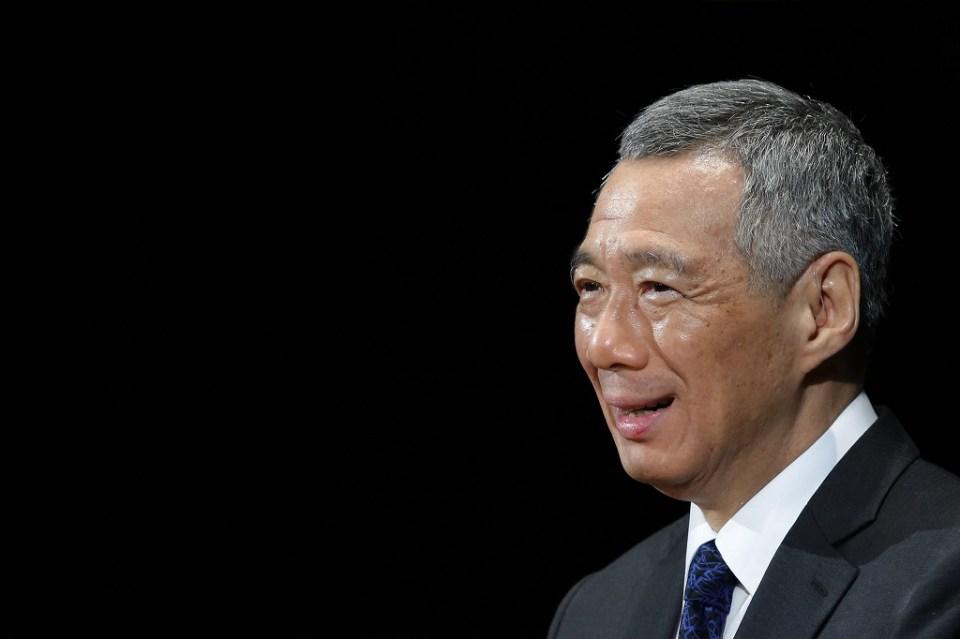 Премиерът на Сингапур Ли Сян Лун. Снимка: ЕРА/БГНЕС
