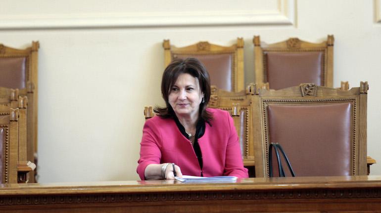 Вътрешният министър Румяна Бъчварова ©БГНЕС