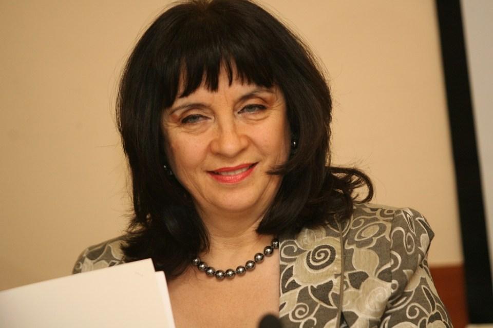 Зам.-министърът на образованието Валя Кастрева. Снимка: БГНЕС