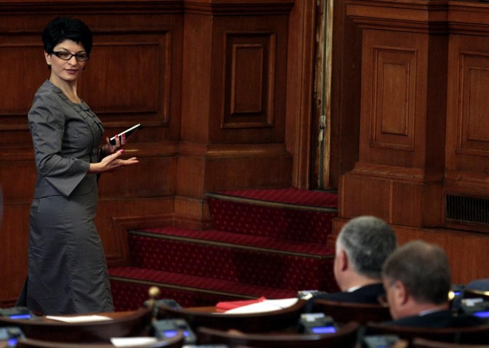 Десислава Атанасова. Снимка: EPA/ БГНЕС