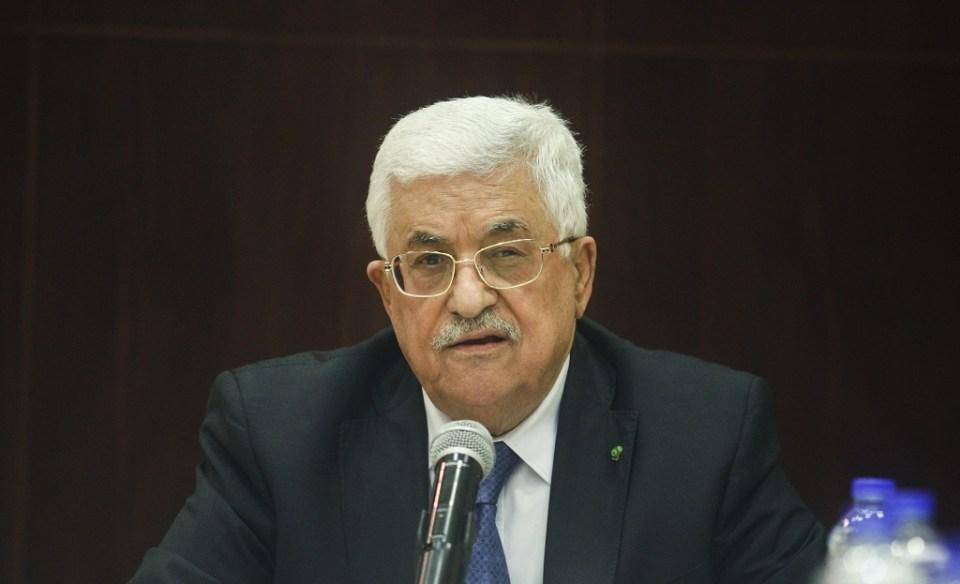 Палестинският президент Махмуд Аббас. Снимка: EPA/ БГНЕС