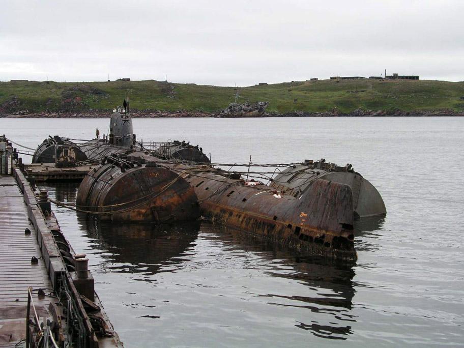 Подводница К-159  Снимка: WikiMedia