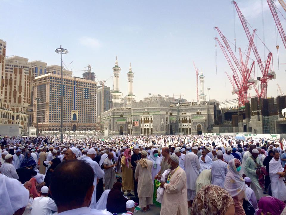 Джамията Масджид ал Харам в Мека. Снимка: Facebook