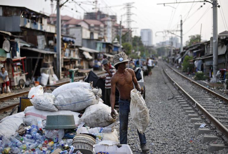 Бедността в Джакарта, Индонезия ©EPA/БГНЕС