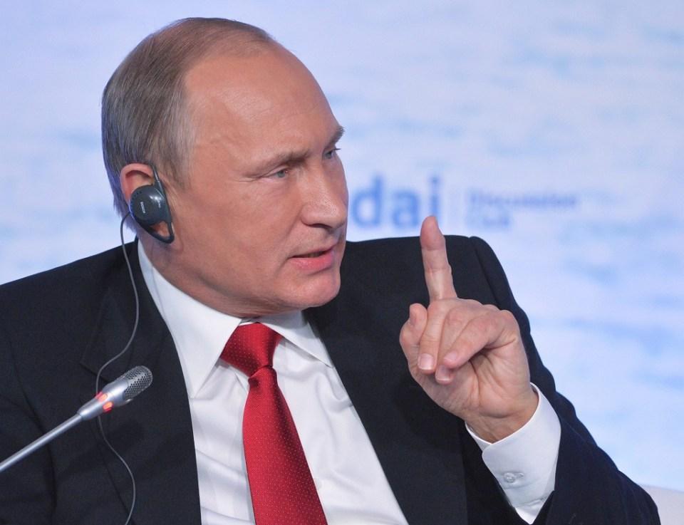 Владимир Путин Снимка: EPA/ БГНЕС