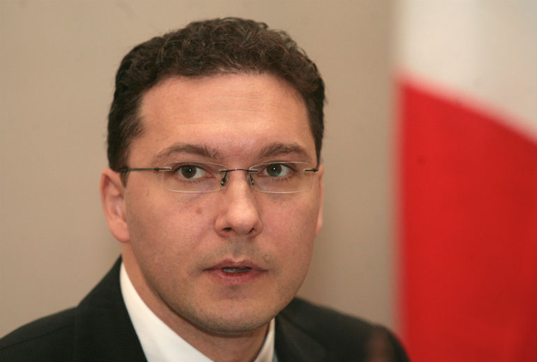 Министърът на външните работи Даниел Митов. Снимка БГНЕС