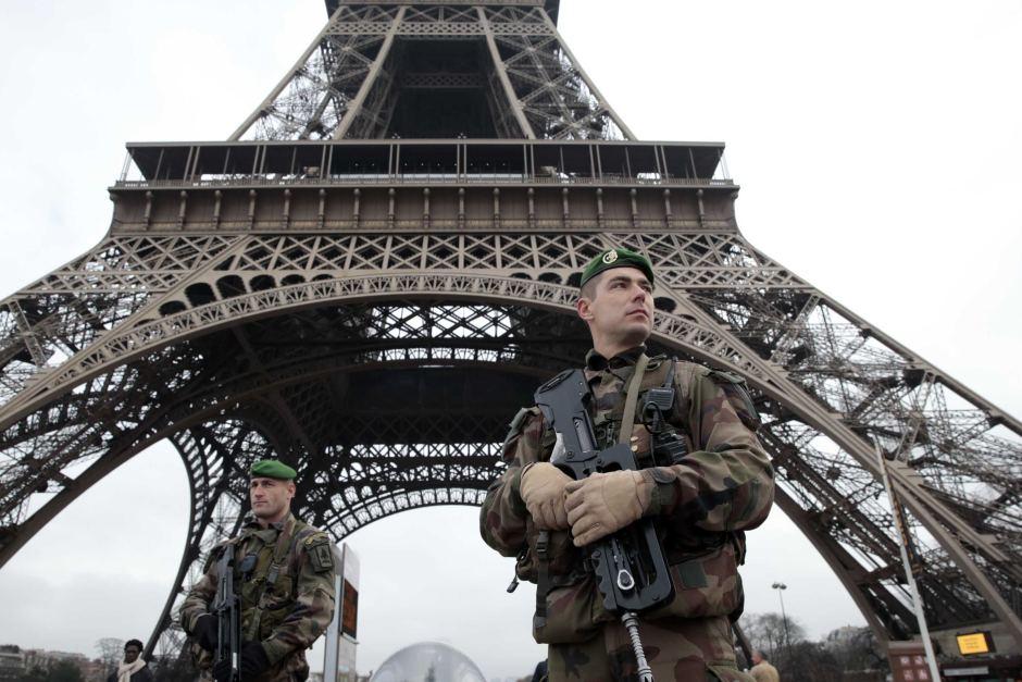 Париж атаки
