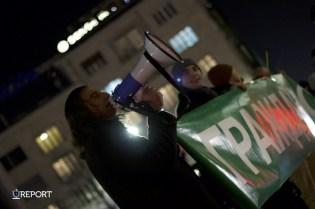 Протест в подкрепа на съдебната реформа блокира центъра на София