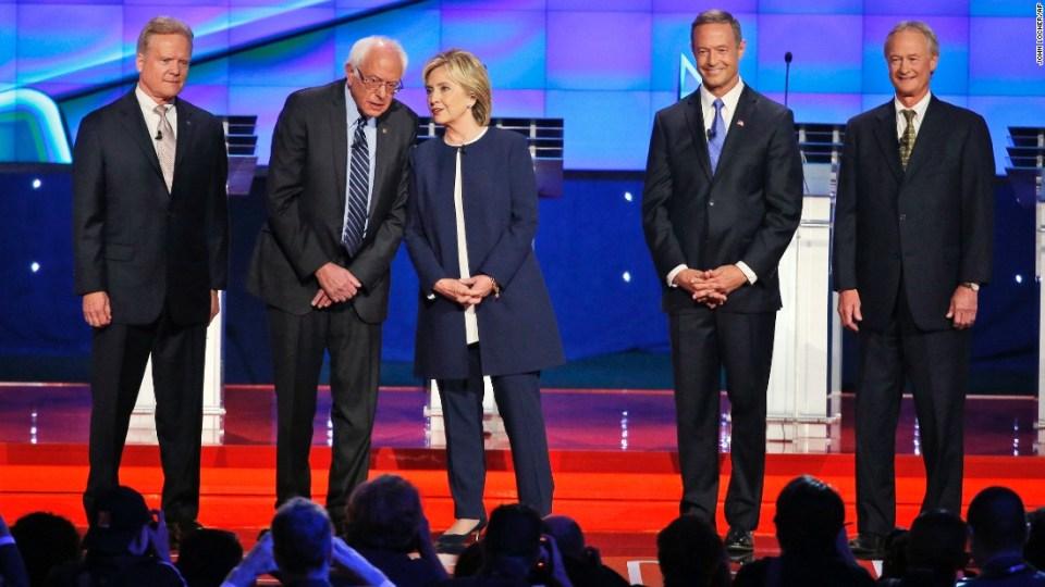 дебатите на демократите