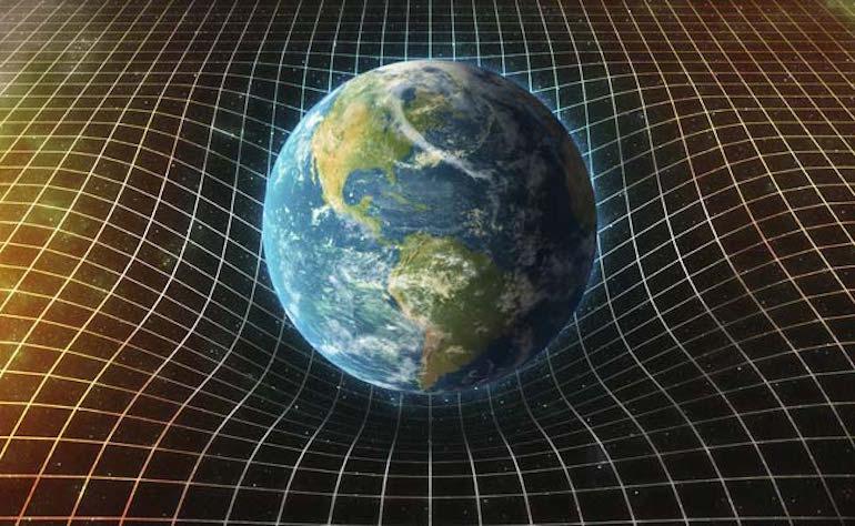 земя гравитация вълни