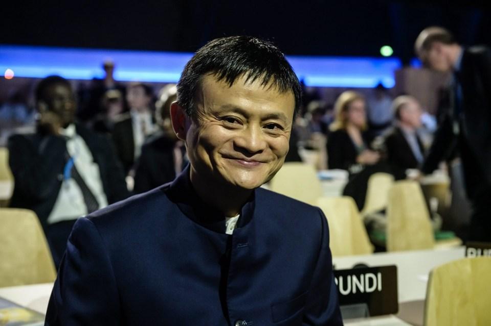 Изпълнителният директор на Alibaba Джак Ма Снимка: ЕРА/БГНЕС
