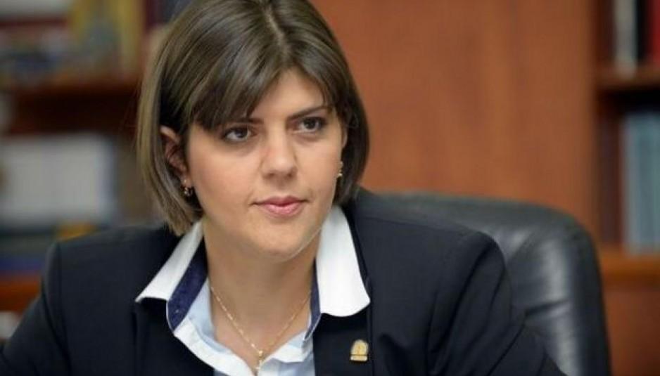 Лаура Кьовеши, главен прокурор на Националната дирекция за борба с корупцията в Румъния
