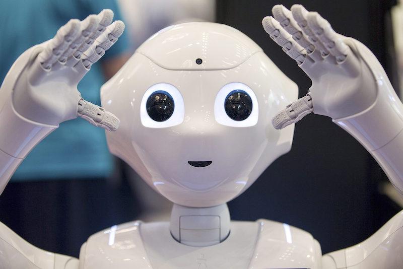 Роботът Pepper ©EPA/БГНЕС