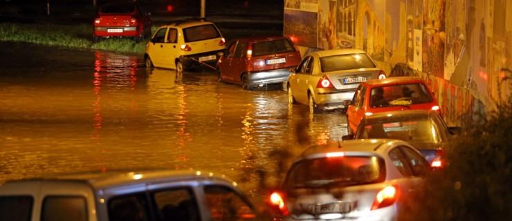 Скопие Македония наводнения