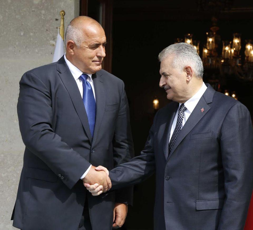 Борисов и Йълдъръм. Снимка: Пресслужба на МС