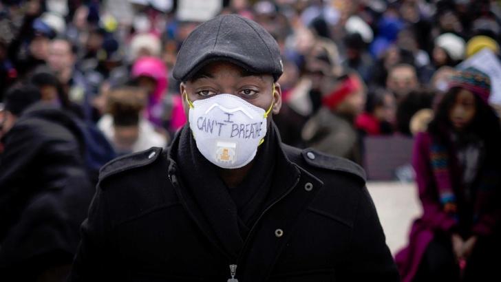 Протести в Шарлът
