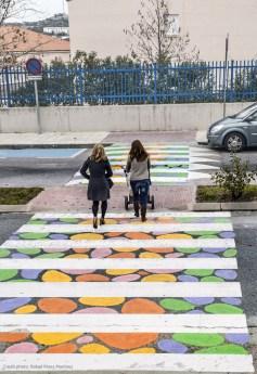 """Български артист разкраси """"зебрите"""" в Мадрид"""