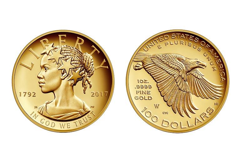 монета 100 долара