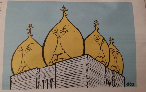 карикатура Шарли Ебдо