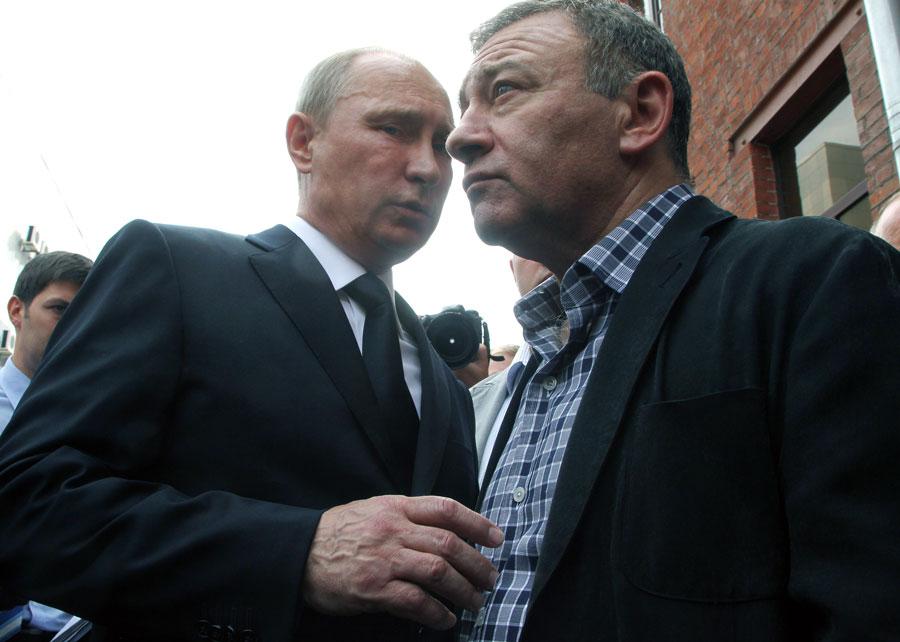 Президентът Путин с приятеля си от детинство, днес милиардер, Аркадий Ротенберг