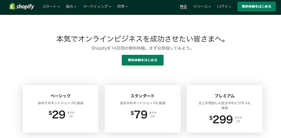 ShopifyとCafe24の比較