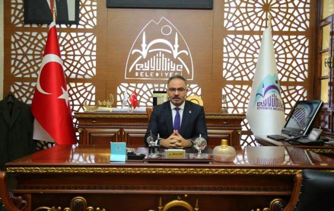 Eyyübiye Belediye Başkanı Mehmet Kuş
