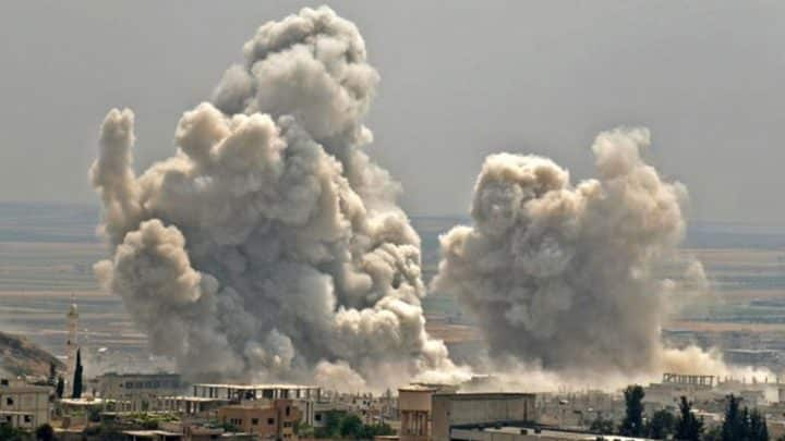 Rusya Öso Unsurlarına hava saldırısı; çok sayıda ölü var
