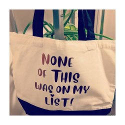 Reusable Canvas Shopping Tote