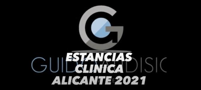Estancias Clínica Alicante 2021