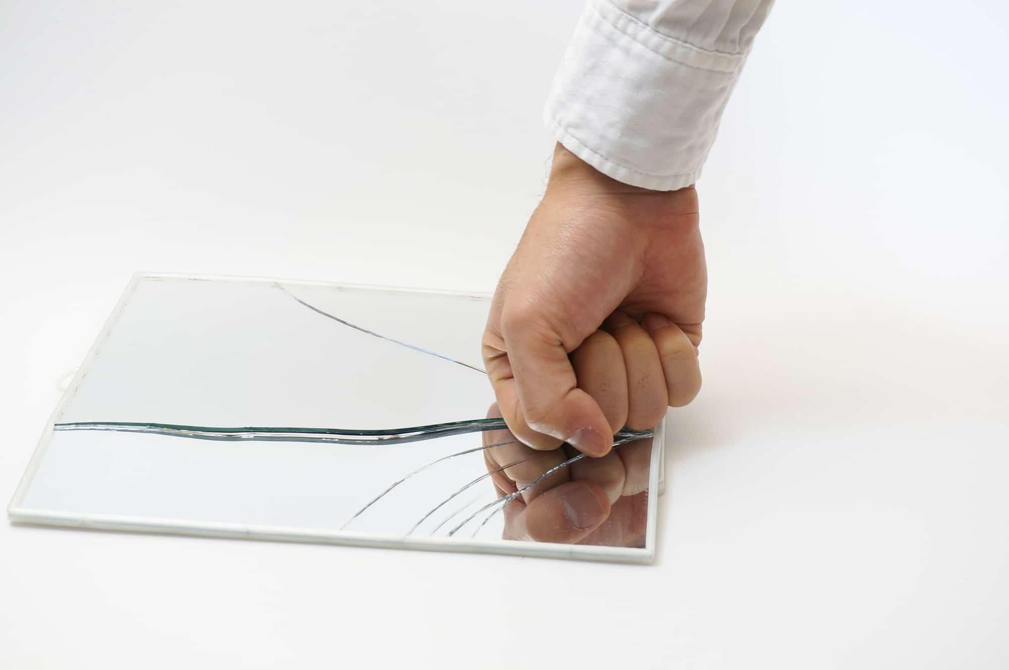 glass splinter