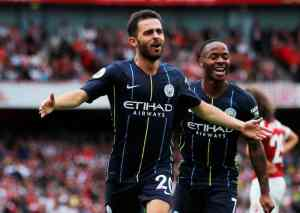 Raheem Sterling And Silva Steer Manchester City To Victory