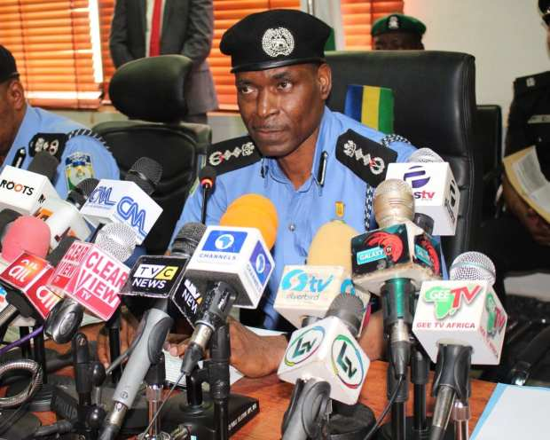 Inspector General of Police Meeting with South-West Governors