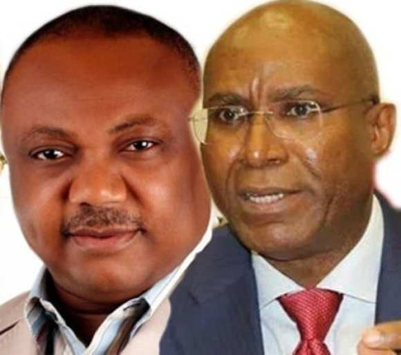 Ovie Omo-Agege and Great Ogboru Inside Story In Delta APC
