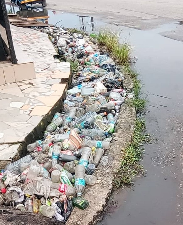 STOP INDISCRIMINATE DISPOSAL OF WASTES INTO SAPELE DRAINAGES