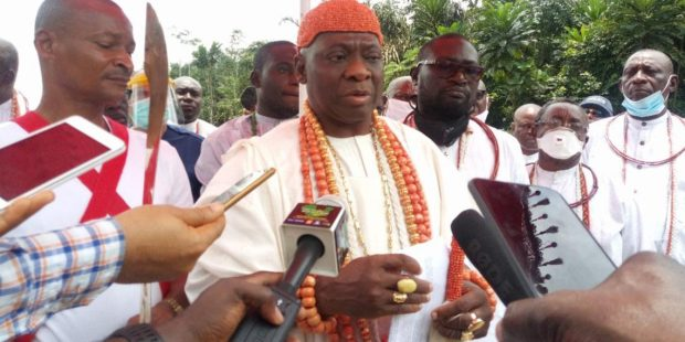 Olu Of Warri Urges Buhari To Complete Abandoned Projects In Koko