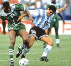 Sunday Oliseh Recalls Usa94 Maradona Encounter