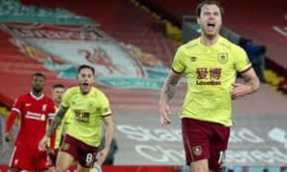 Burnley Shocks Liverpool With 1 0 Defeat On Thursday