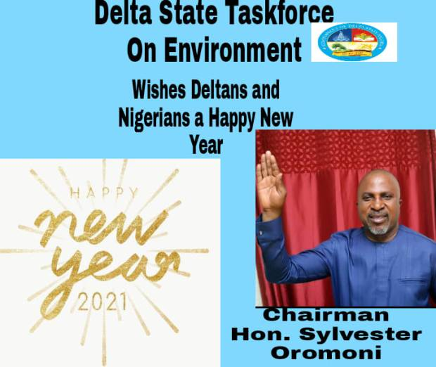 Oromoni Wishes Okowa Happy New Year Charge Deltans On Clean Environment