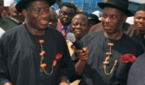 (L-R) President Goodluck Jonathan an Rivers State Governor Rotimi Amaehi when the going was good