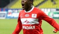 Super Eagles striker Emmanuel Emenike