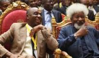 (L-R) Rotimi Amaechi and Prof. Wole Soyinka