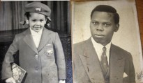 (L-R) EliZabeth Dafinone as a little girl with Senator David Dafinone