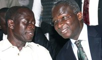 Edo State Governor, Comrade Adams Oshiomole and Lagos State Governor  Babatunde Fashola