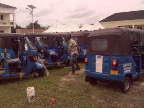 Some of the tricycles
