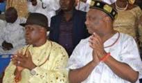 (l-r)Chief O'tega Emerhor and Chief Great Ogboru