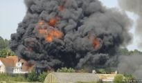 The plane is believed to have crashed after attempting a loop